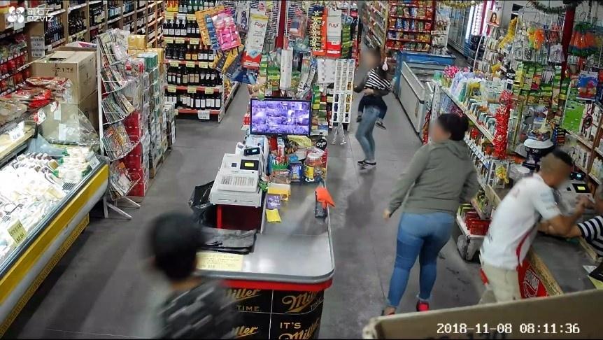 Buscan a una ex polic�a local por robo a un supermercado en Solano