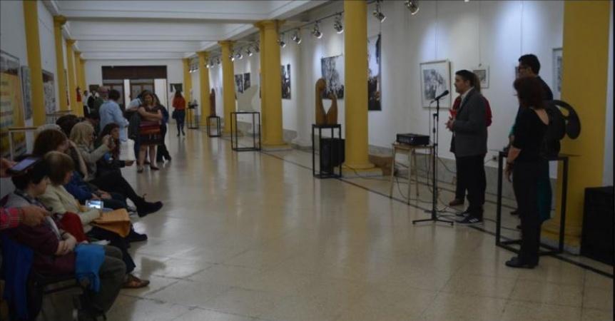 """Inauguró la muestra """"Género y sexualidad en el Arte y la Cultura"""""""