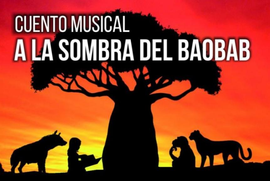 """Se presenta el cuento musical """"A la sombra del baobab"""" en La Plata"""