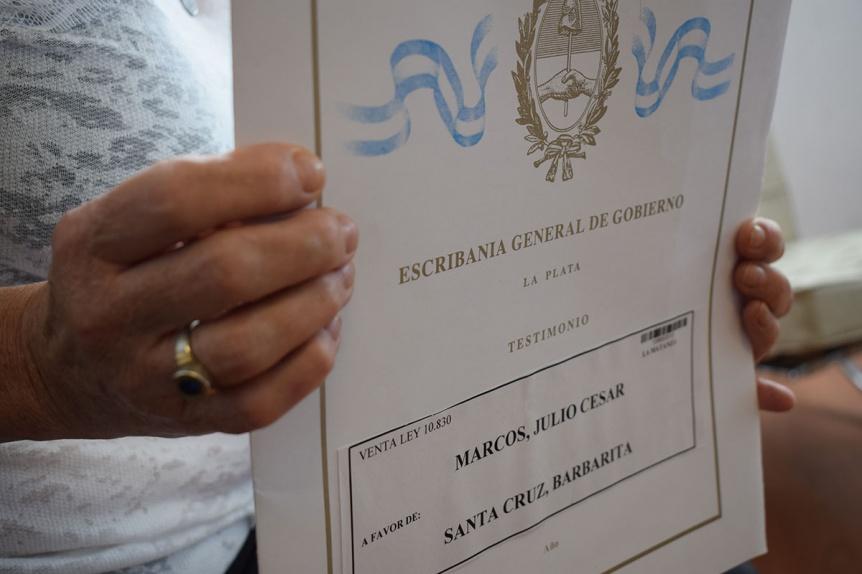 El Centro de Veteranos de Guerra de Malvinas de Quilmes tendr� su escritura