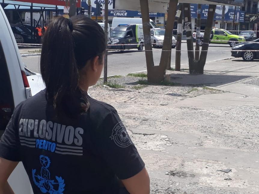 Hallaron granada anti incendios  y provocó inquietud en Solano
