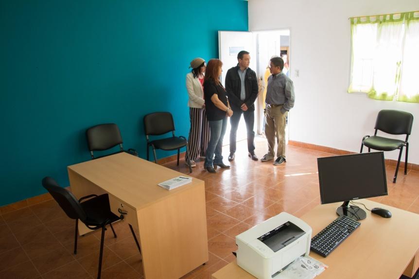Inauguró en Varela un nuevo espacio para la protección y promoción de los derechos de los niños