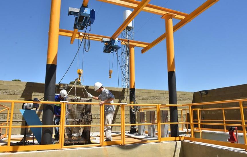 Se habilit� en Quilmes una nueva Estaci�n de Bombeo Cloacal Las Piedras Norte