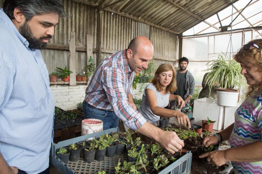 Molina participó de una jornada de capacitación sobre forestación de plantas nativas y cuidado ambiental