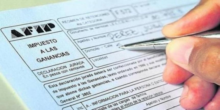 Quienes cobren m�s de 38.300 pesos en 2019 deber�n pagar Ganancias