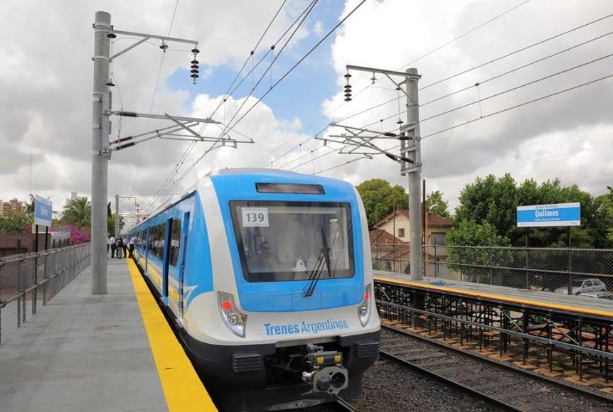 Anuncian mejora en la frecuencia del tren Roca desde mañana