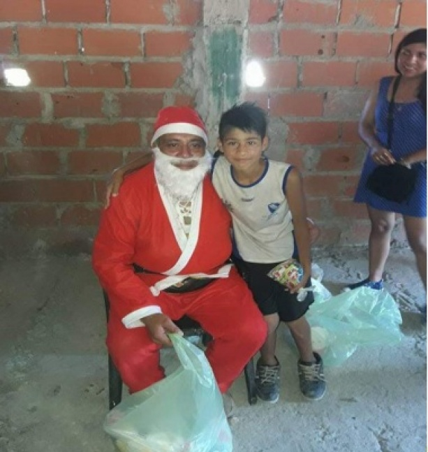 Merendero de Solano pide ayuda para que Papá Noel llegue mejor equipado