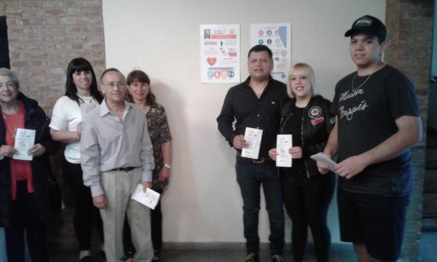 Campaña de Rotarios de Ezpeleta contra la hipertensión arterial