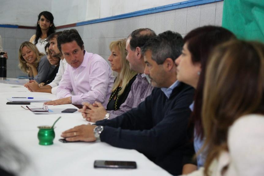 El Municipio y la Provincia analizaron el trabajo realizado para evitar la deserción escolar en Quilmes