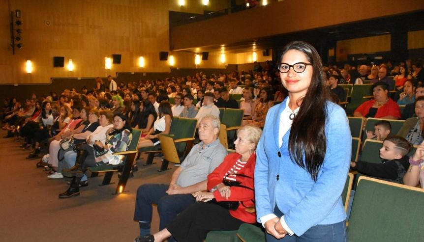 Egresados 2018 de la Secundaria N� 15 en el Teatro Municipal de Quilmes