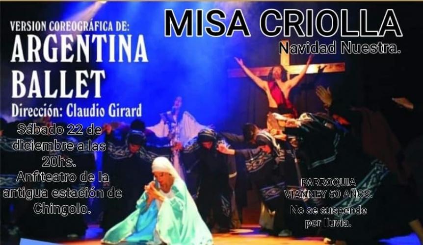La parroquia San Juan Mar�a Vianney festeja sus 50 a�os con la Misa Criolla