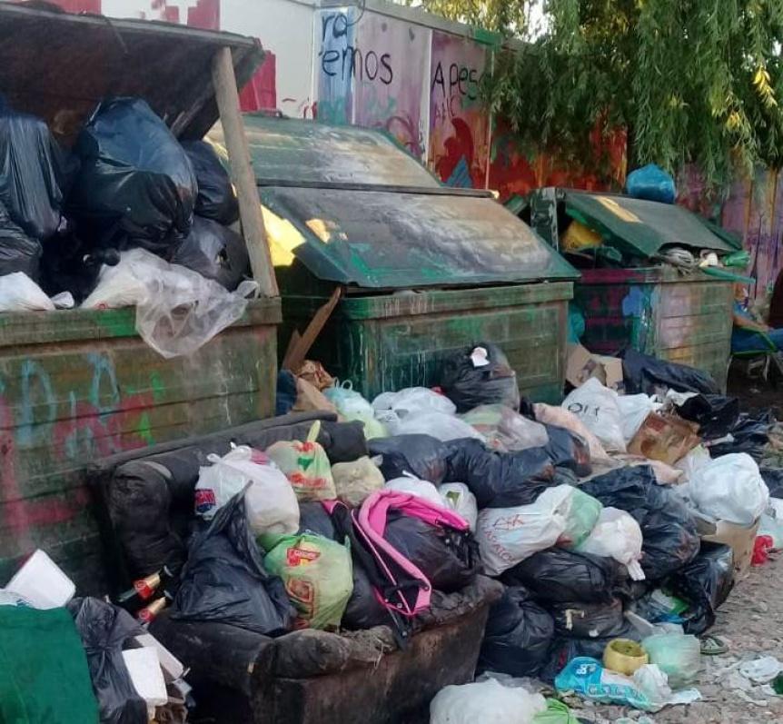 Vecinos protestan porque llevan 6 días sin recolección de residuos en Bernal Oeste