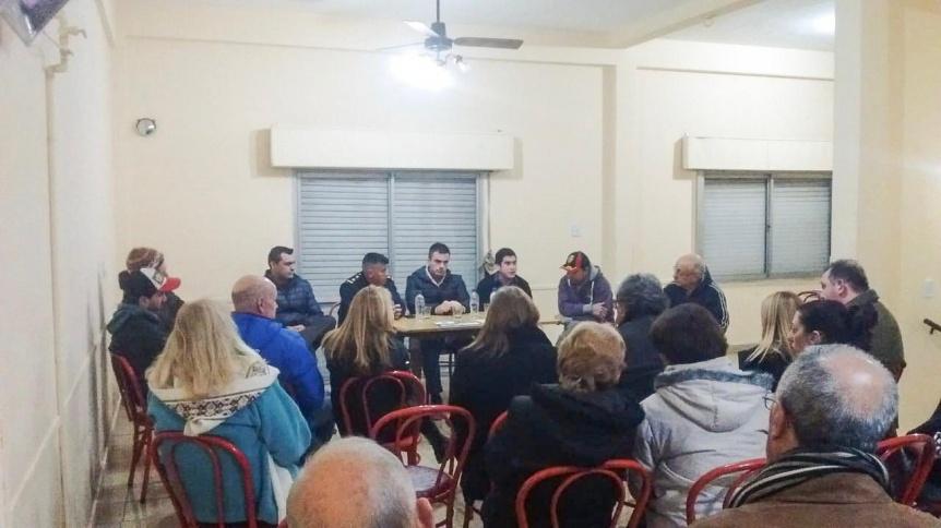 La Comuna realizó más de 200 reuniones vecinales durante el 2018