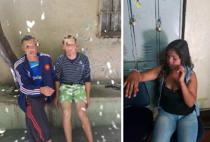 Asalto pira�a a una mujer en la plaza de la Estaci�n de Quilmes