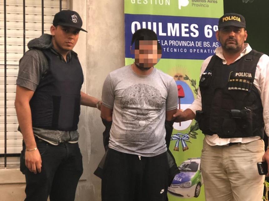 Arrestaron al hombre que intent� degollar y quemar a su mujer en Ezpeleta