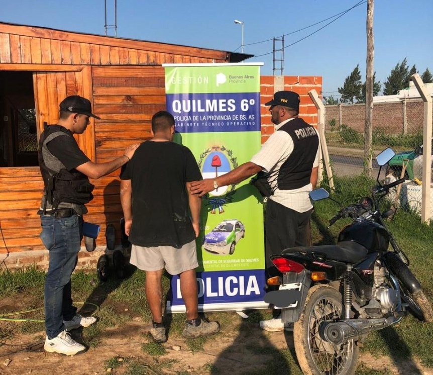 Allanaron y detuvieron a presuntos motochorros que asolaban Ezpeleta