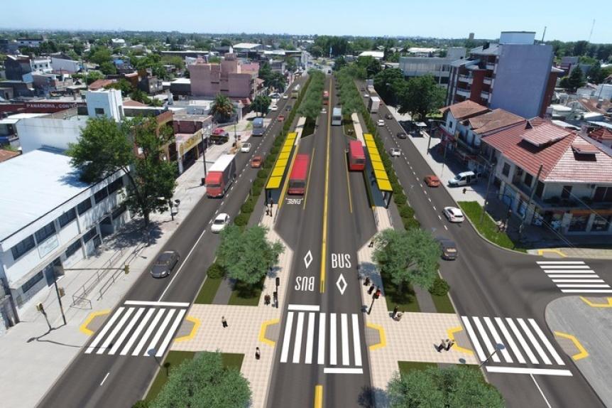 Llaman a licitación para construir el Metrobus de Florencio Varela