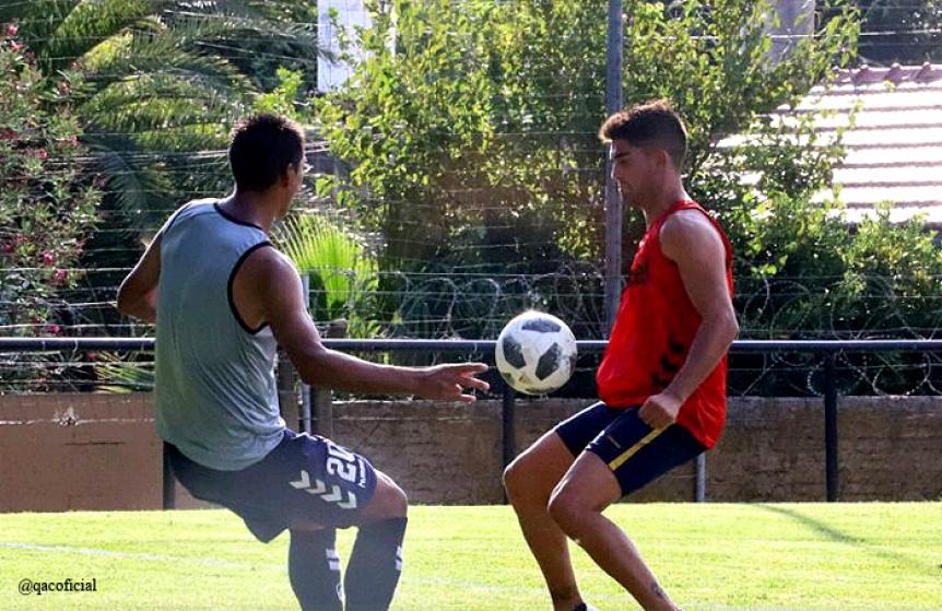 Quilmes derrotó a Everton de La Plata en el tercer amistoso