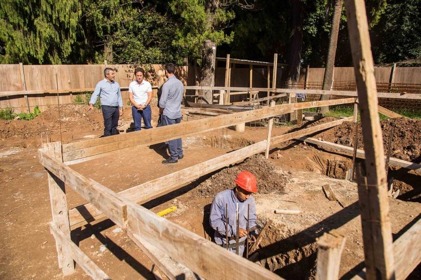 Arrancó una importante obra de infraestructura en la Escuela Agraria Nº 1 de Quilmes Oeste