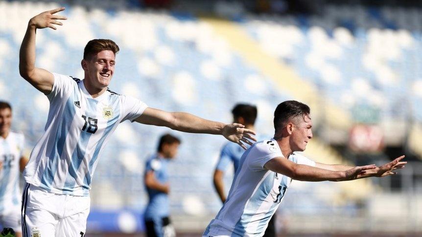 Argentina le gan� a Uruguay y est� en el Mundial de Polonia