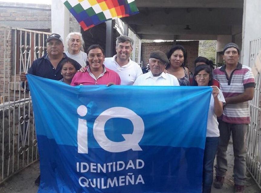Di Giuseppe reclamó el cumplimiento del pacto de Hermandad con los Quilmes
