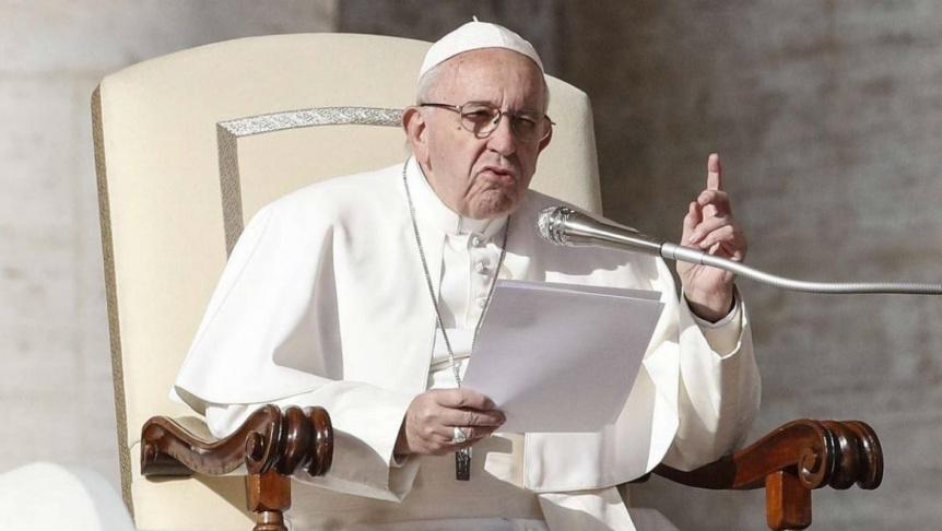 El Papa llam� a combatir y denunciar