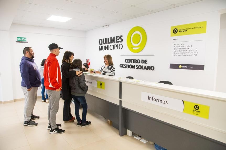 El nuevo Centro de Gesti�n Ciudadana en Solano agiliza tr�mites y acerca servicios a cientos de vecinos