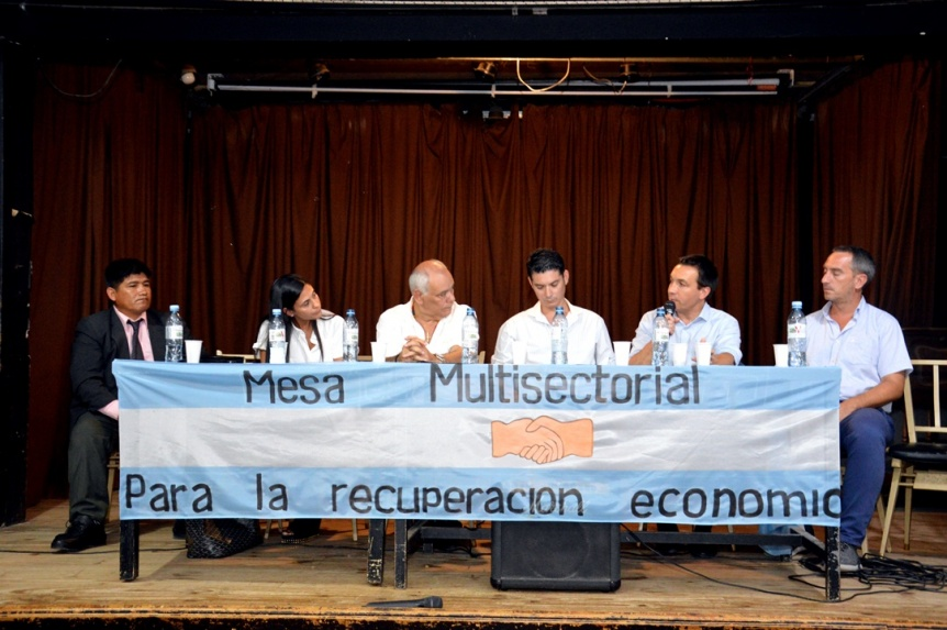 Lanzaron en Florencio Varela la primera Mesa Multisectorial para la Recuperaci�n Econ�mica
