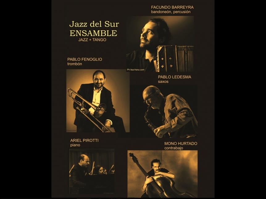 Jazz del Sur Ensamble en el Teatro municipal de Quilmes