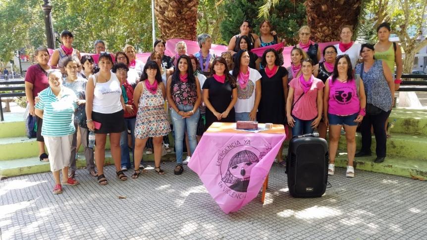 Mujeres celebraron la reglamentaci�n de la Emergencia en Violencia de G�nero
