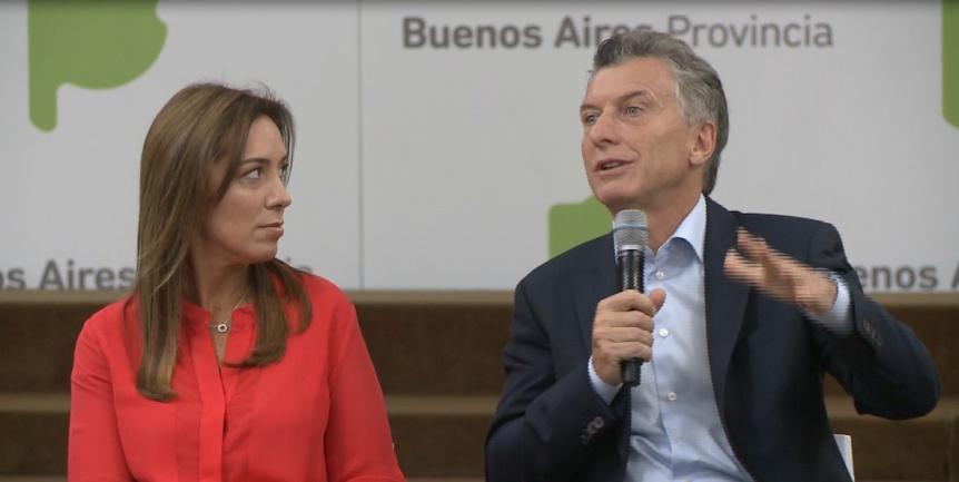 Macri y Vidal encabezaron la reunión de gabinete en la sede de la gobernación bonaerense