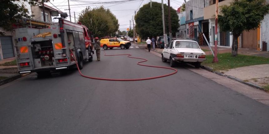 Importante fuga de gas en Quilmes Oeste: Evacuaron un jardín