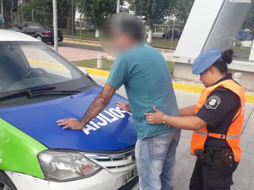 Peligroso delincuente pr�fugo por 17 a�os fue capturado en control