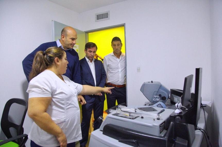 Molina destacó las modernas instalaciones de la nueva sede para tramitar la licencia de conducir