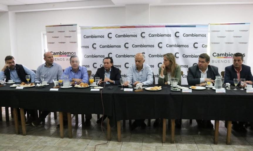 Grindetti y Sica analizaron la actualidad económica y productiva del Conurbano