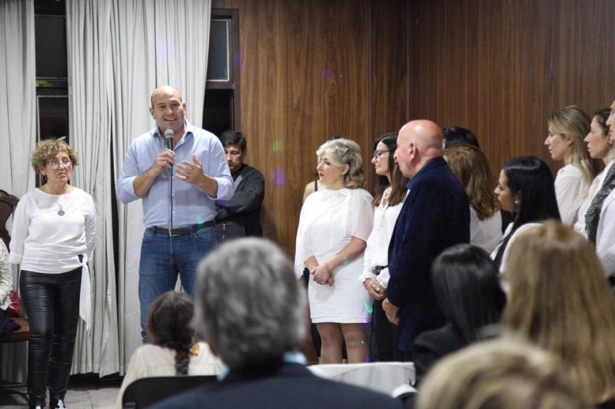 Molina brind� su apoyo a la flamante asociaci�n civil Mujeres L�deres en Acci�n