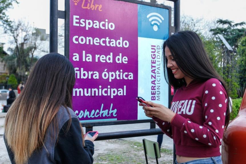 Berazategui ya cuenta con 300 km de fibra �ptica municipal