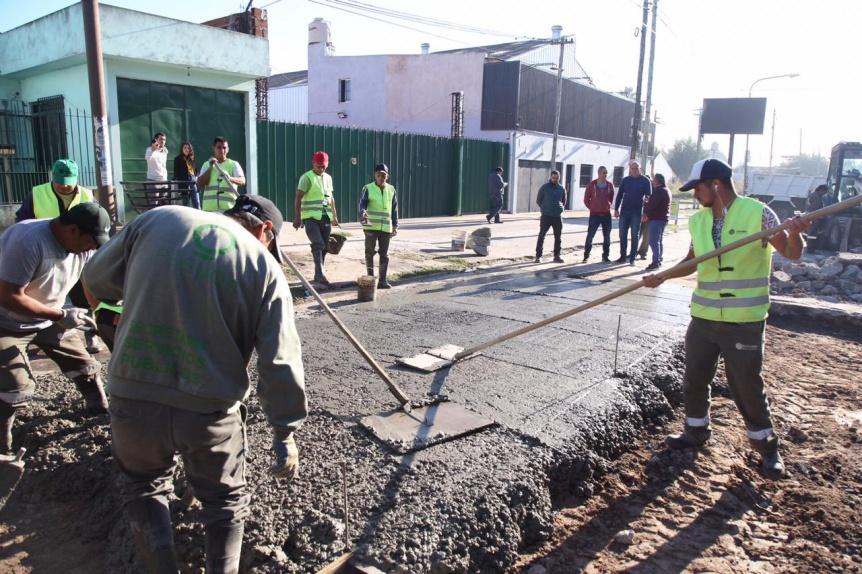 El Intendente de Quilmes avanza con un plan de bacheo