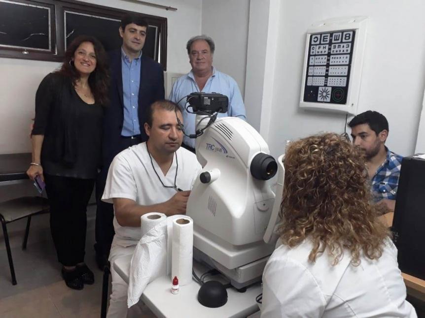 El Hospital Materno Infantil Dr. Eduardo Oller dispone de un retin�grafo de �ltima generaci�n