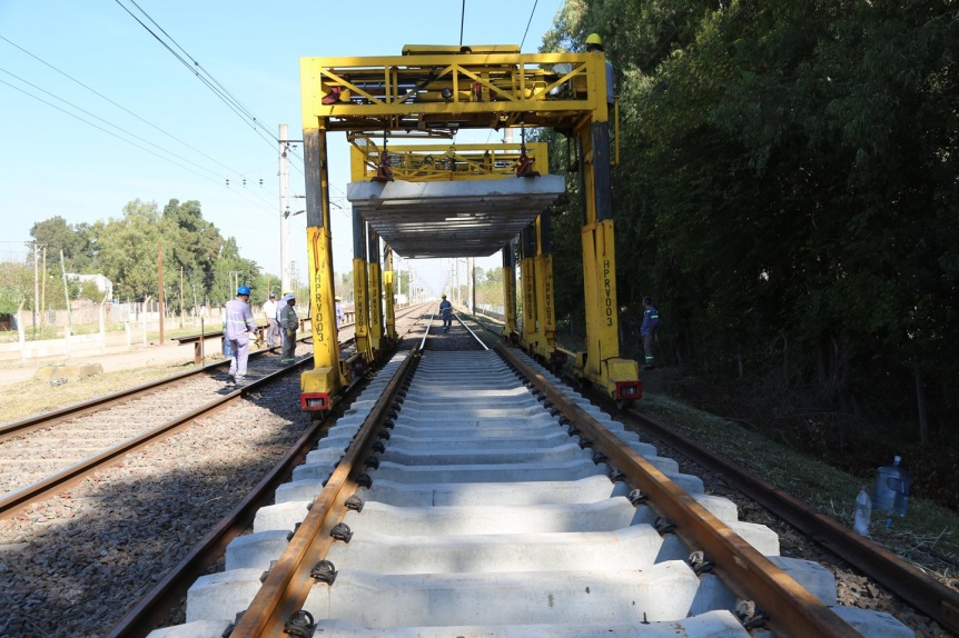 El tren Roca tendr� v�as nuevas entre Glew y Alejandro Korn