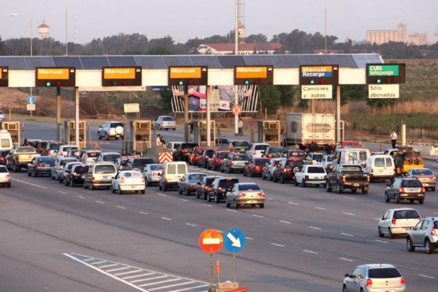 Vuelve a subir el peaje en la autopista Buenos Aires-La Plata