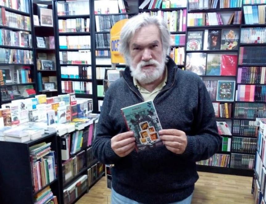 Miguel Angel Morelli presenta su libro en la Feria del Libro