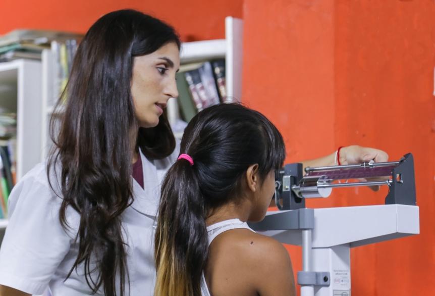 El Municipio de Quilmes realiza un operativo integral de salud y desarrollo social en Ezpeleta