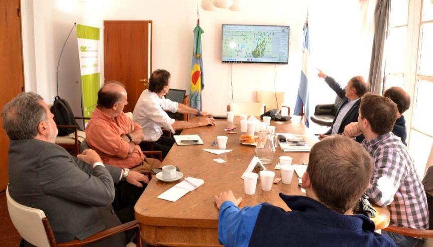 Provincia instalar� m�s estaciones del SIMATH para evitar desbordes de los arroyos