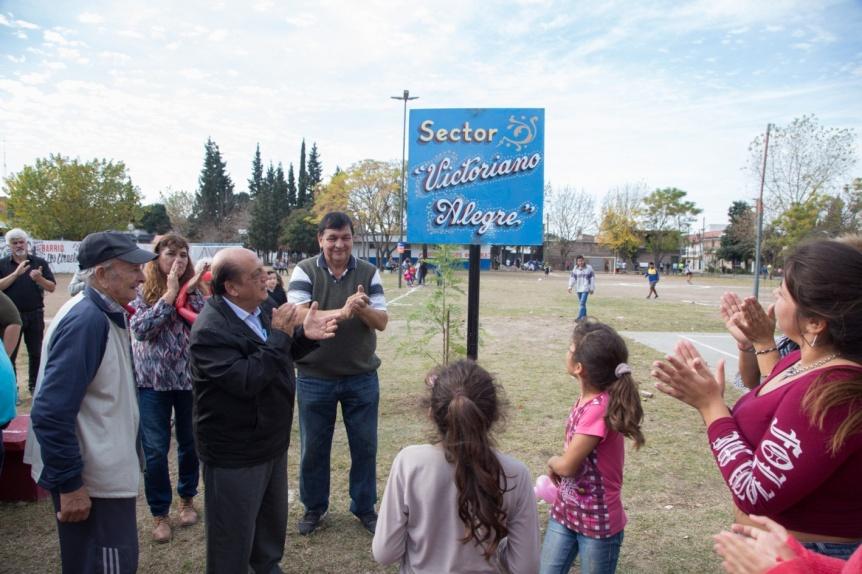 Más plazas renovadas en Berazategui con juegos nuevos, luces led y sendas aeróbicas