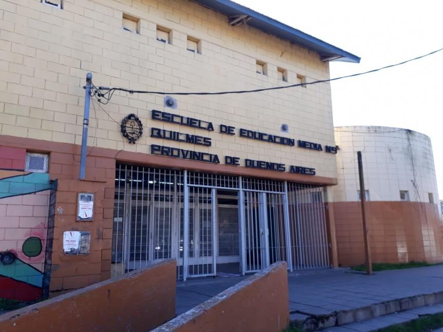 UDOCBA Quilmes reclama el gas para la Secundaria 9 de Solano