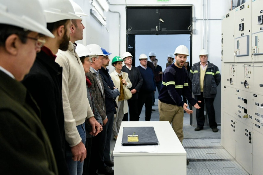 Tren Roca: Inaugur� la nueva Subestaci�n El�ctrica Quilmes