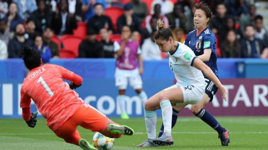Hist�rico empate de Argentina ante Jap�n en el Parque de los Pr�ncipes