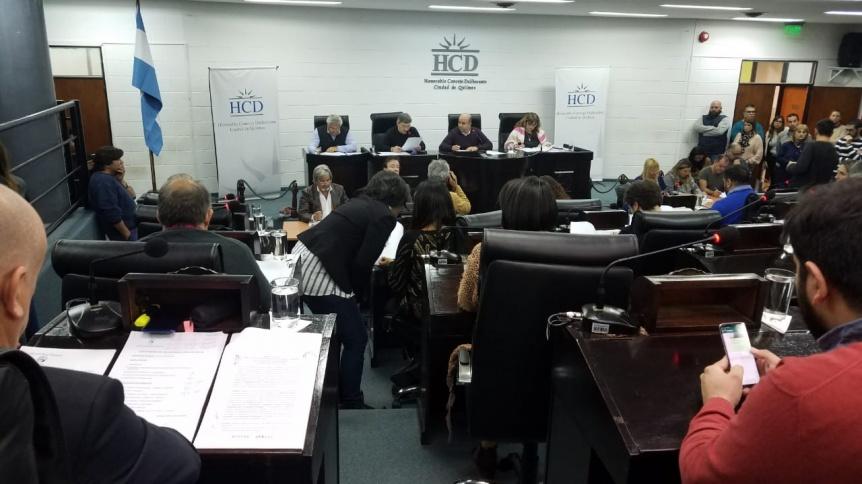 El HCD aprob� convenios con fundaciones y el gremio de Comercio