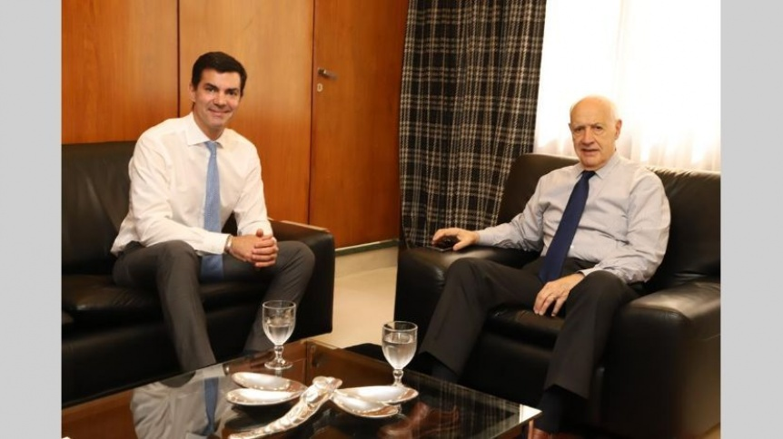 Roberto Lavagna y Juan Manuel Urtubey sellaron una alianza electoral